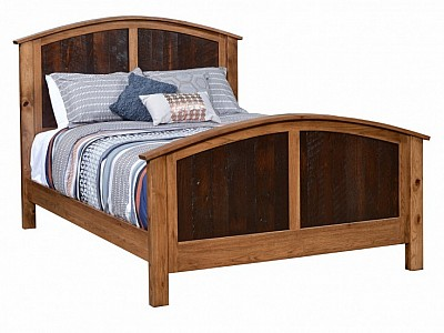 Manhattan Curved Bed