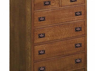 Empire Mission Chest of Drawers
