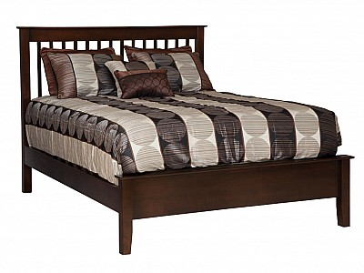 Sheraton Shaker Spindle Bed