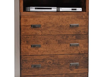 Crossan Chest w/VCR-TV Shelf
