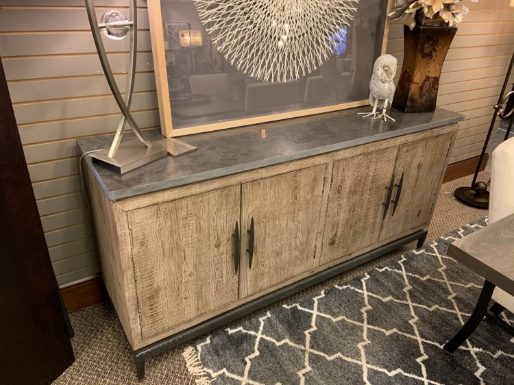 Cromwell 4 Dr Sideboard with Stone Top