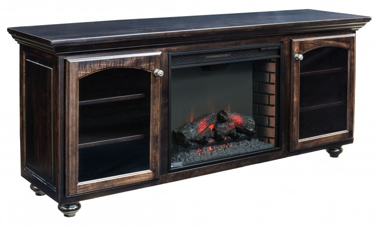 Wyndam Fireplace Entertainment Center