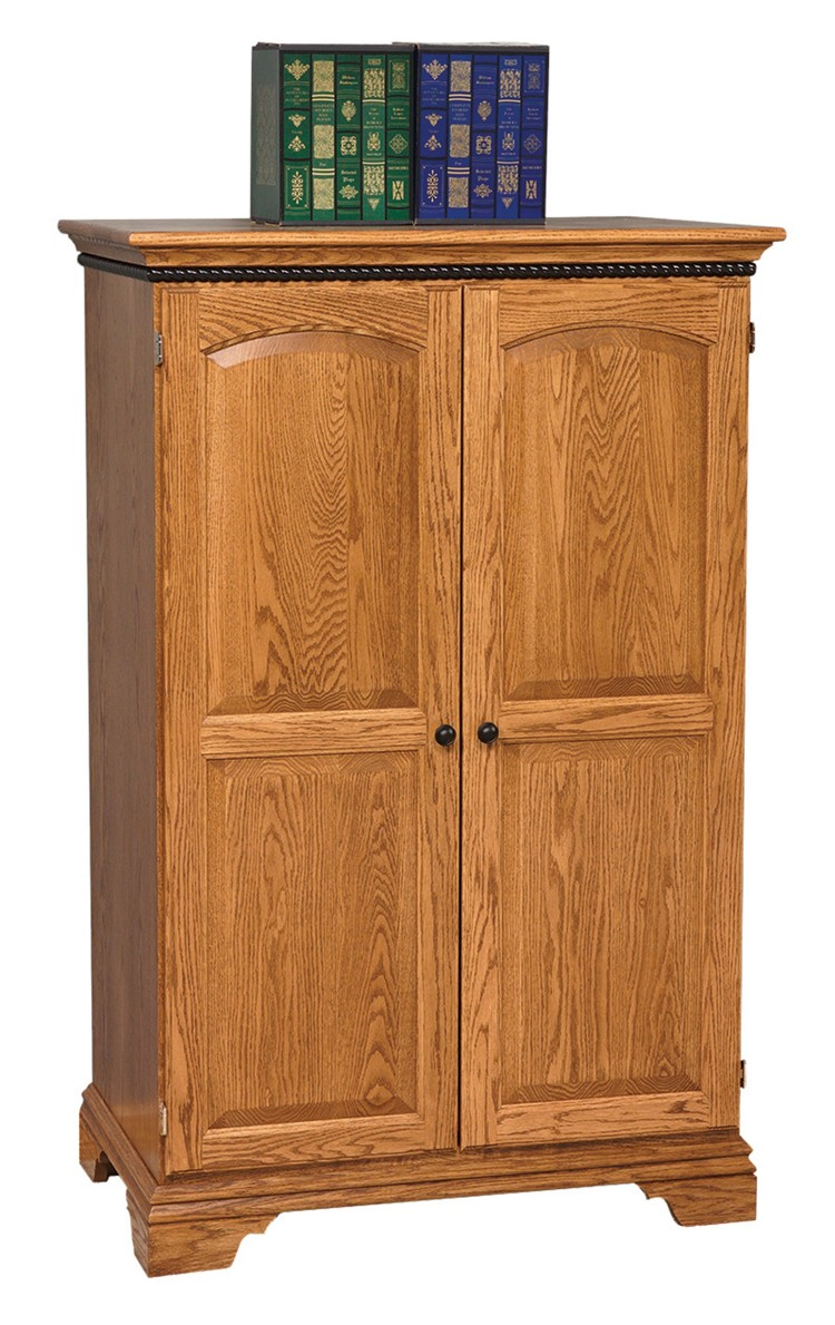 Petite Computer Armoire 452 Go 3209 9 Office Furniture Desks Stone Barn Furnishings Inc