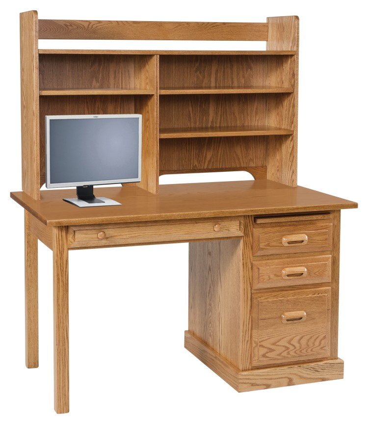 Traditional Regular Computer Desk
