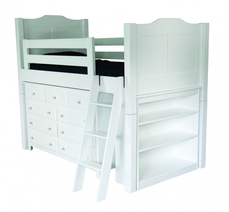 Low Loft Bunk Bed