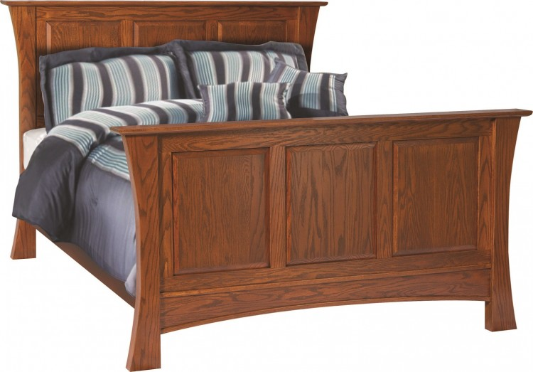 Heirloom Panel Bed