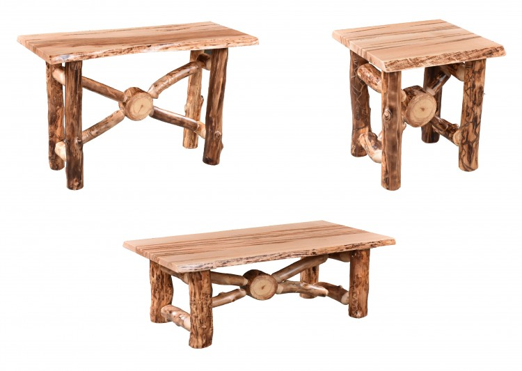 Aspen X Base Occasional Tables