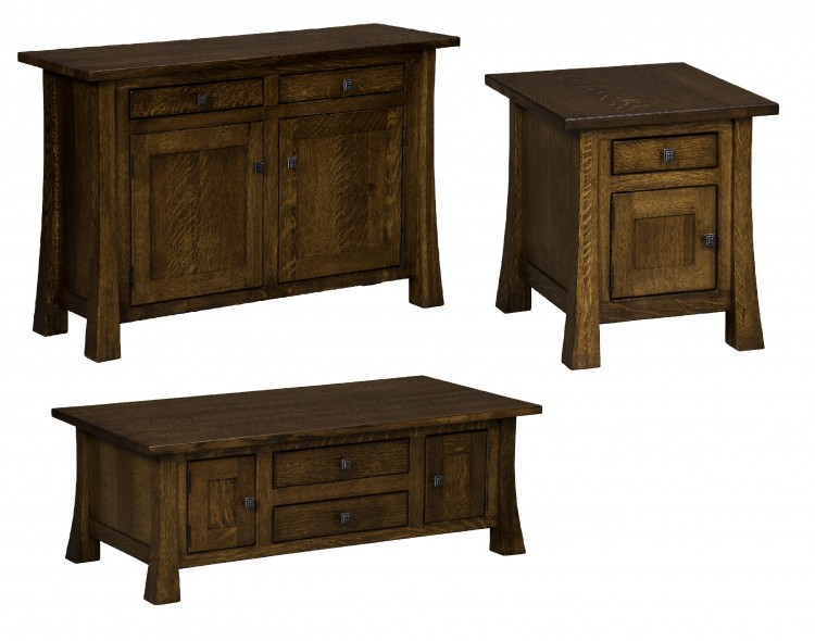 Lakewood Cabinet Occasional Tables : 303-LKCOFCB-115 ...