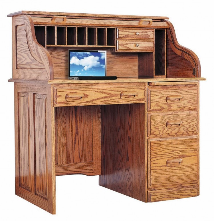 Regency Small Rolltop Desk