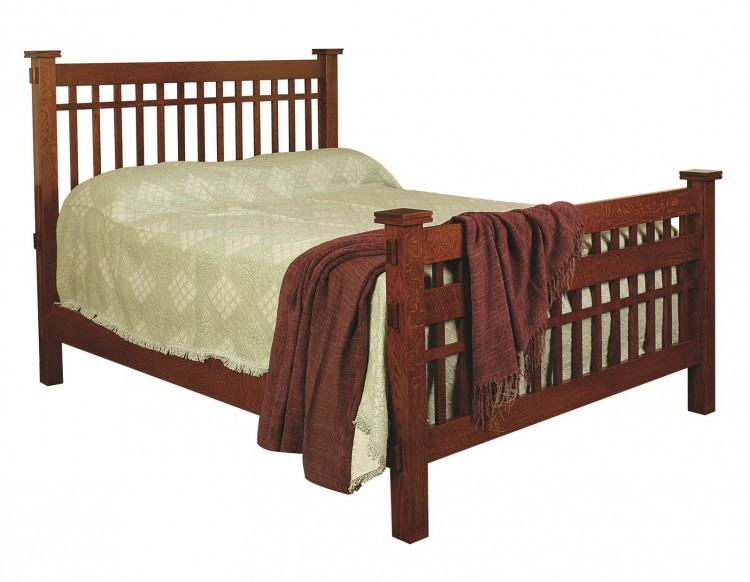 Brooks Mission Bed