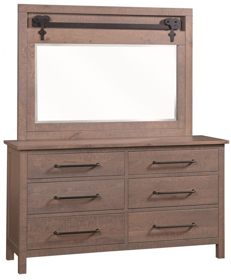 Liberty dresser 576 4504 78 bedroom bedroom suites for Stone barn furnishings