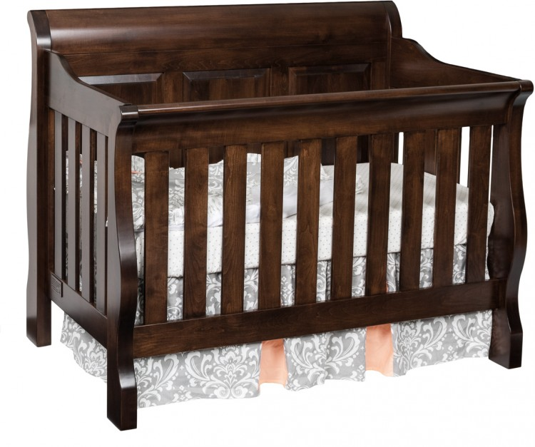 Sleigh Panel Crib 575 Jr6203 18 Bedroom Cribs And Convertible