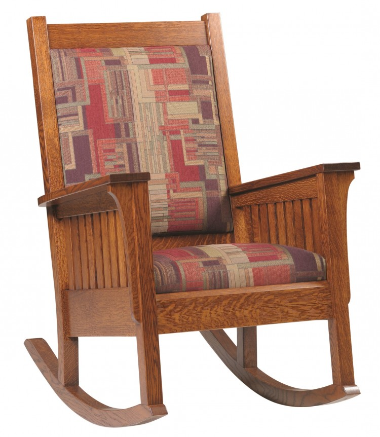 Upholstered Mission : Rockers : Stone Barn Furnishings ...