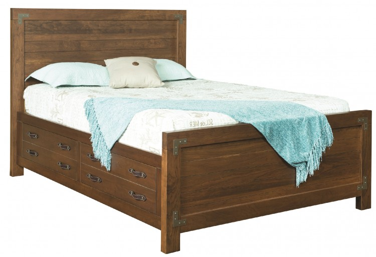 Williamsport Bed w/Storage Drawers