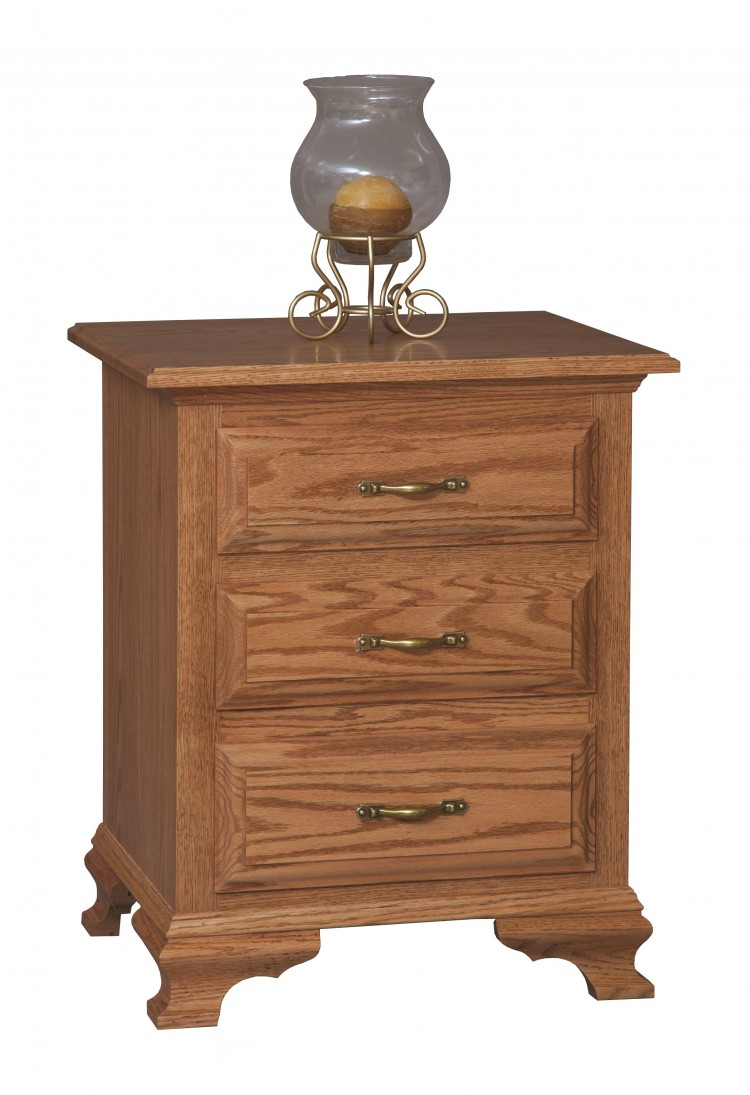 Crown villa nightstand 562 mb3394 65 bedroom bedroom for Stone barn furnishings