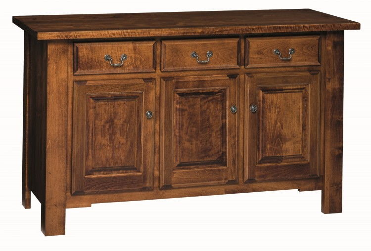 Provincial cottage buffet 415 2005 0100b 96 dining for Stone barn furnishings