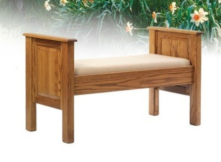 Laurel Hill Bed Seat