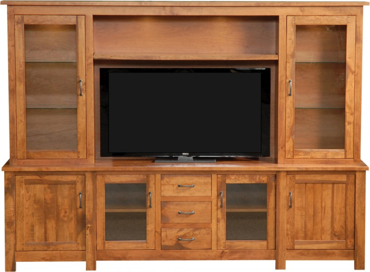Riverton Rustic Wall Unit
