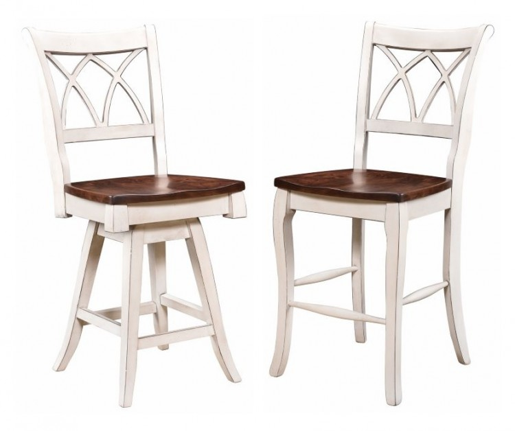 Double X Back Bar-Chair