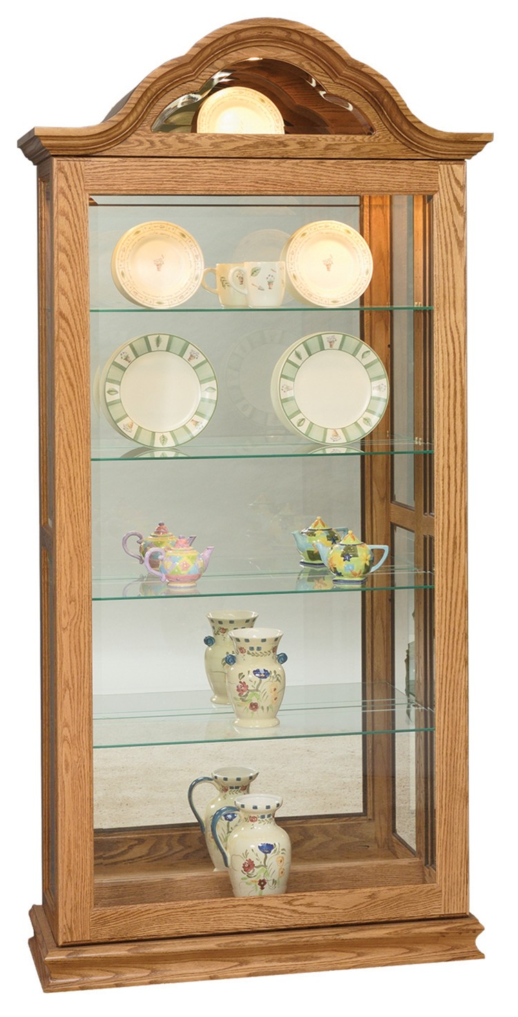 Curved Top Large Sliding Door Picture Frame Curio