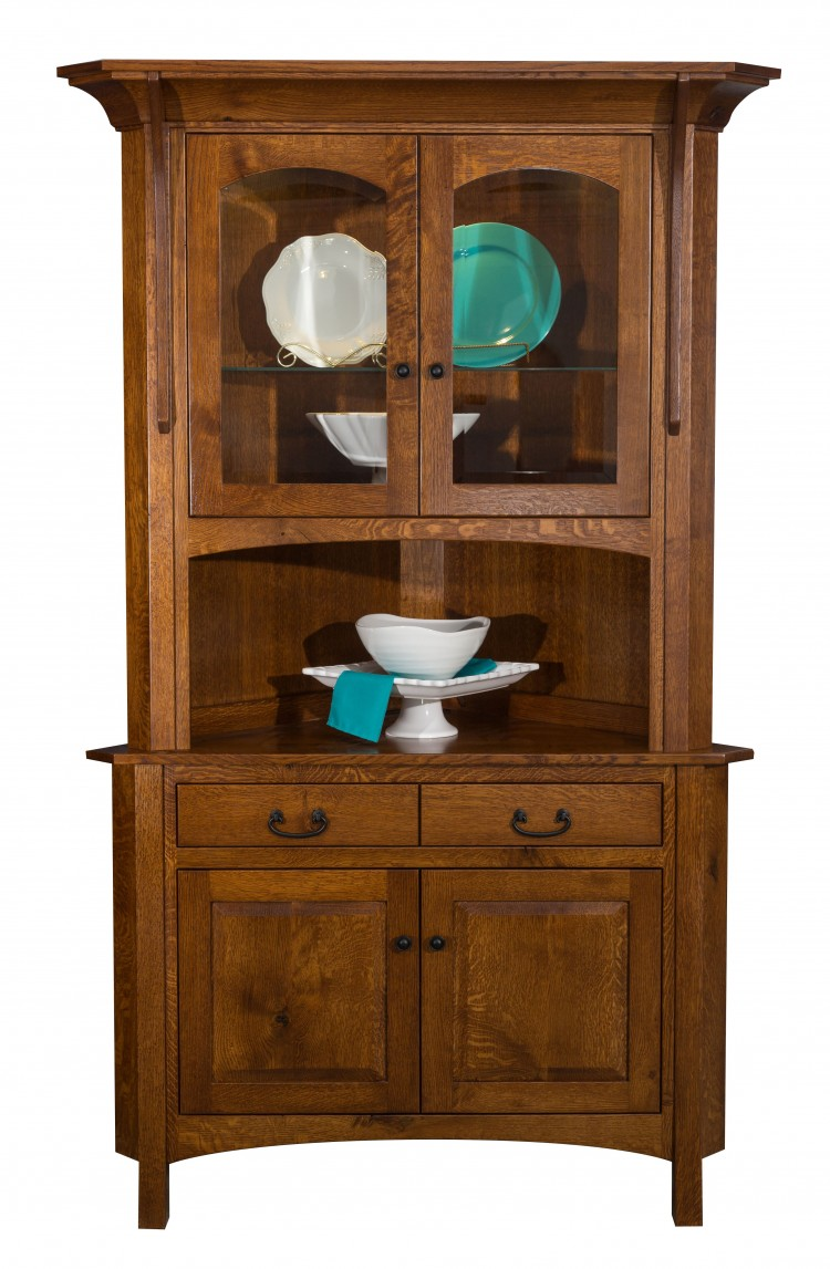 Breckenridge Corner Hutch