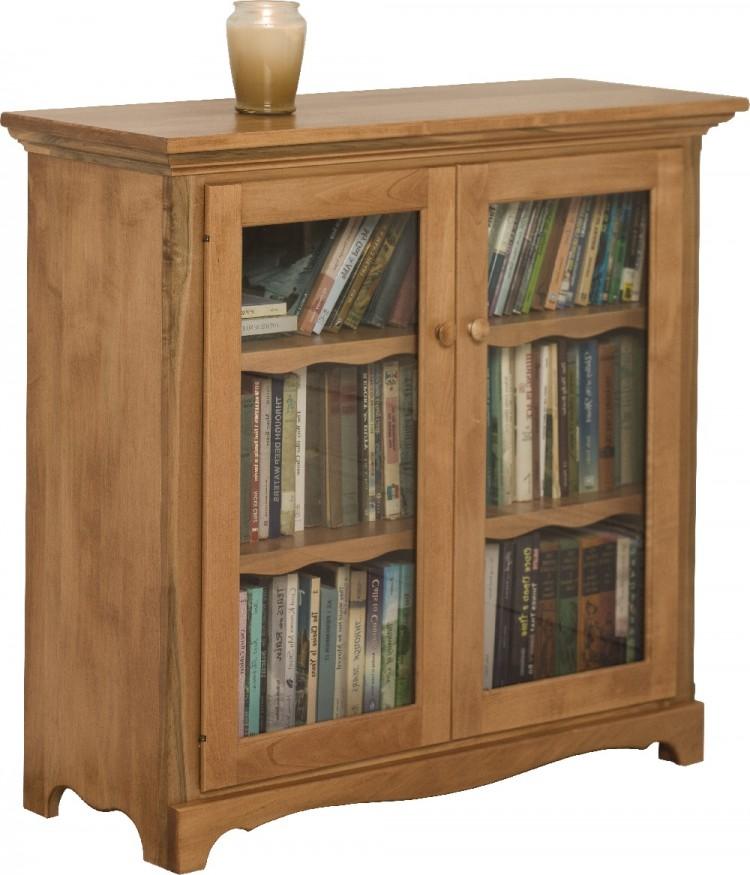Maple Grove Bookcase W Doors