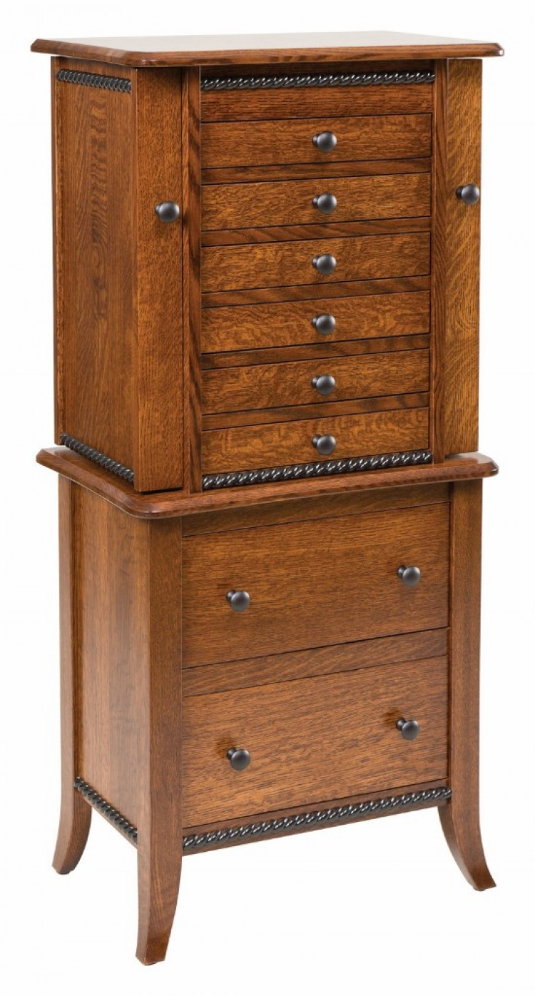 Bunker Hill Jewelry Armoire