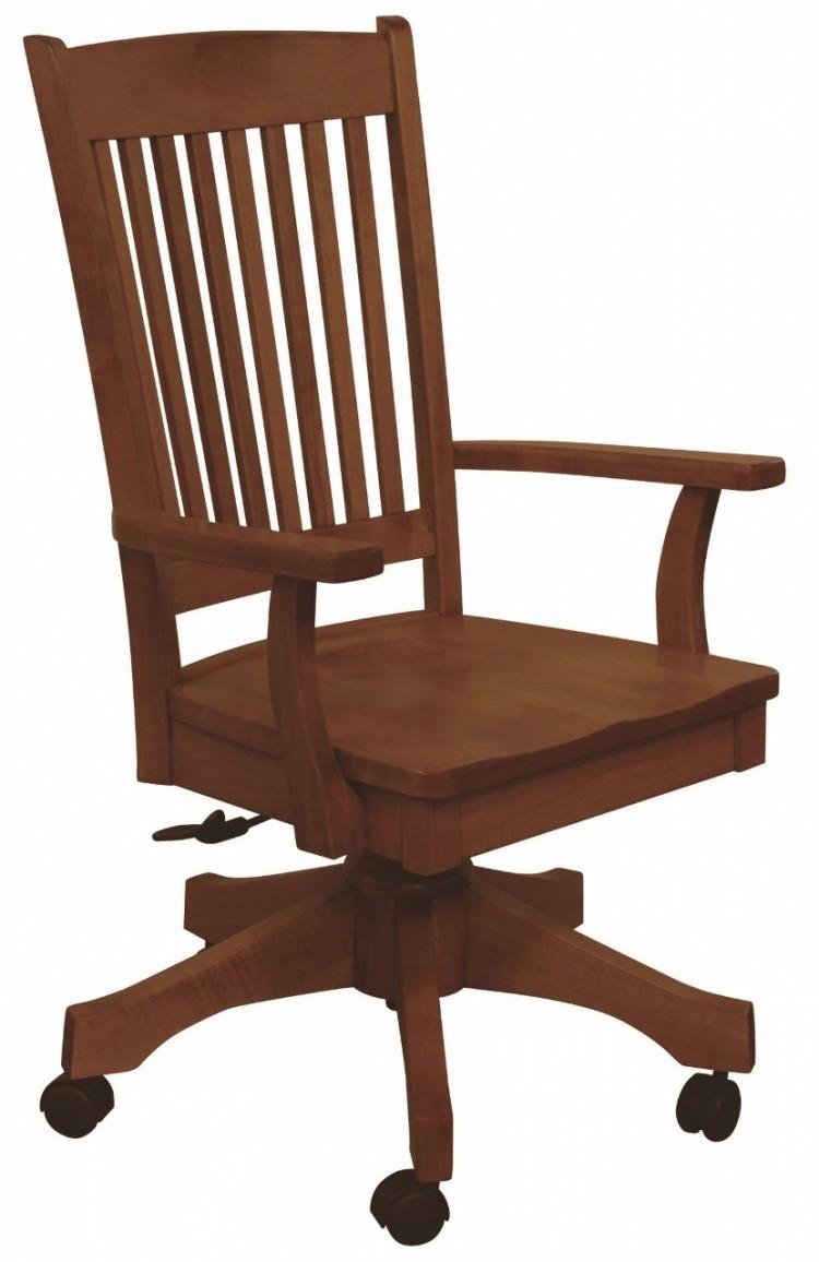 Franklin Desk Chair 203 75da 27 Office Furniture Chairs Stone Barn Furnishings Inc