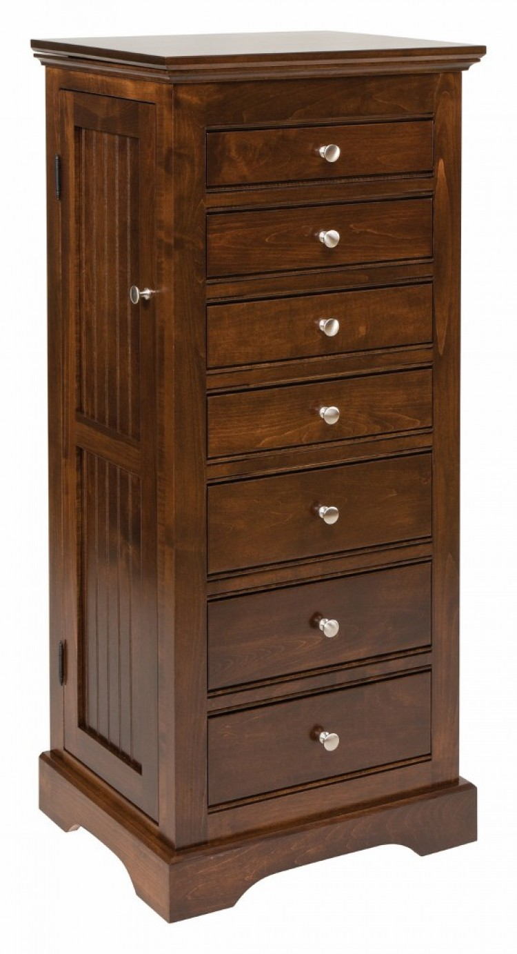 Deluxe Beaded Jewelry Armoire