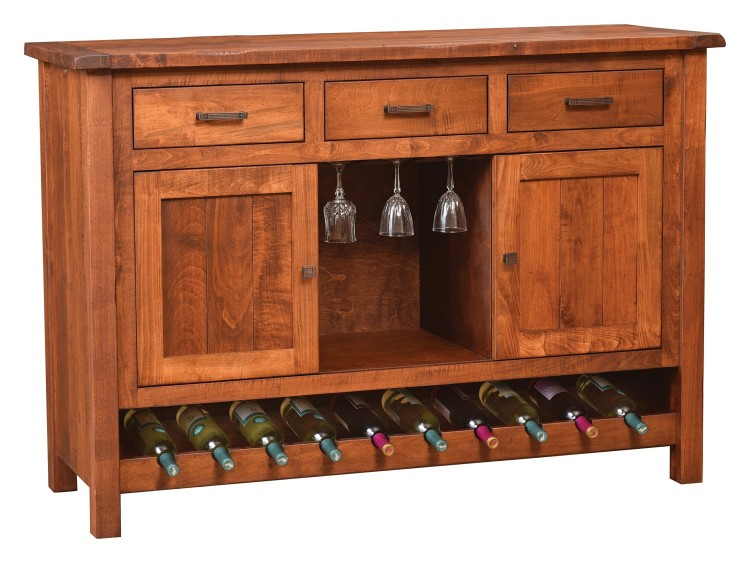 Adele Sliding Door Wine Cabinet