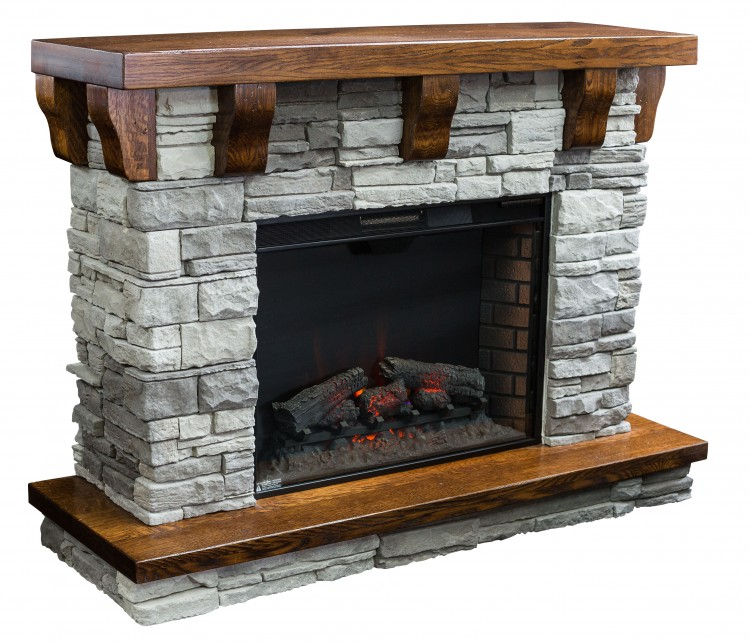Rock Ledge Fireplace