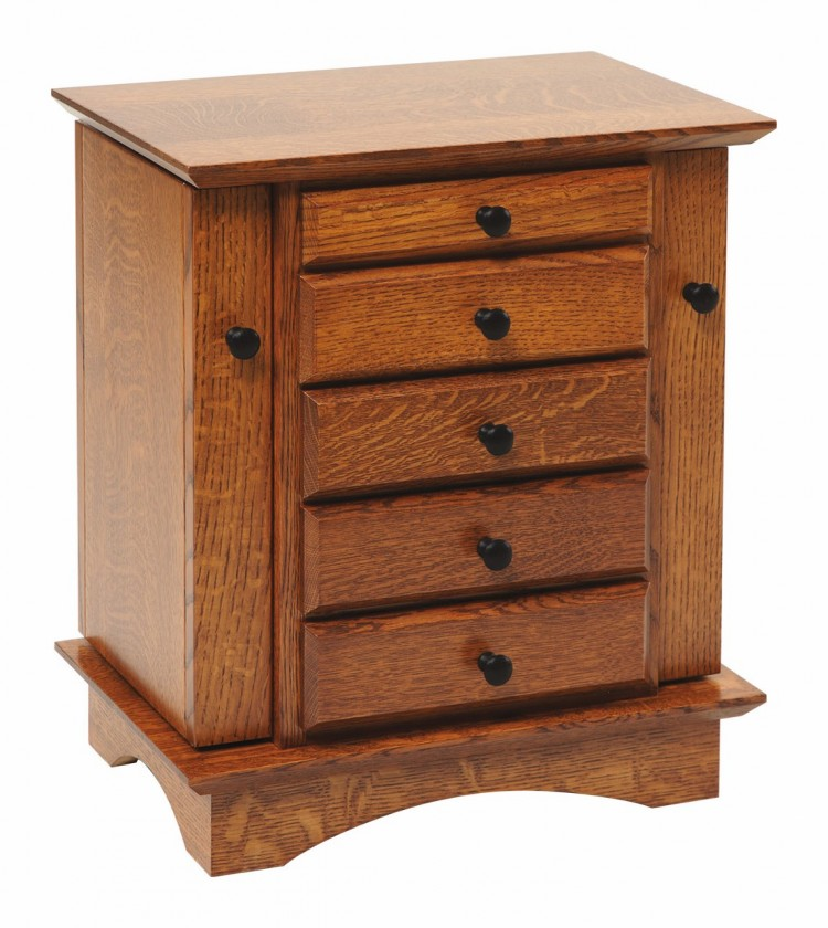 Shaker Small Jewelry Cabinet