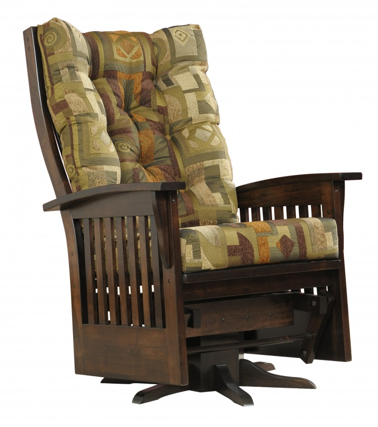 Jumbo Deluxe Mission Swivel Glider