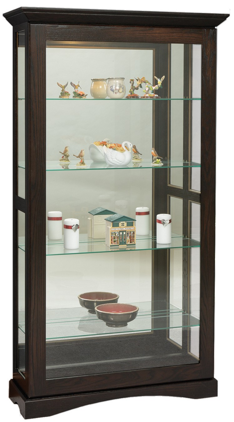 Mission Sliding Door Picture Frame Curio