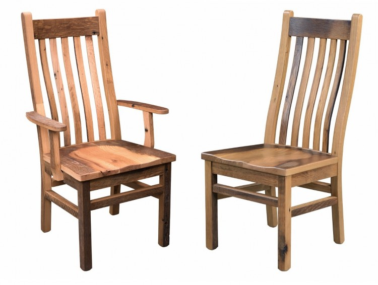 Mission Chair : 231-MAC-148 : Barnwood : Stone Barn ...