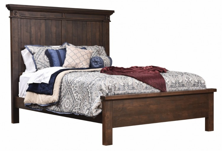 Timbermill Panel Bed