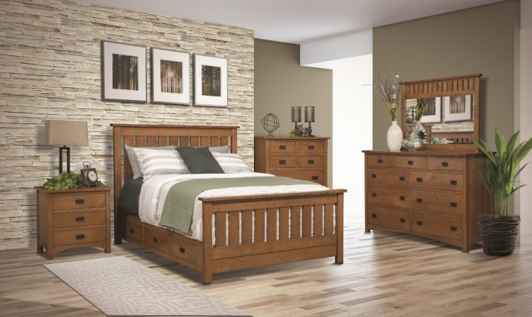 Claremont Mission Bedroom Collection