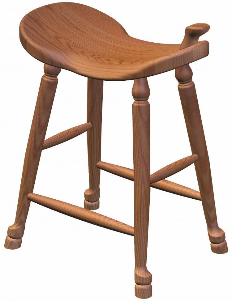 Western Saddle Barstool