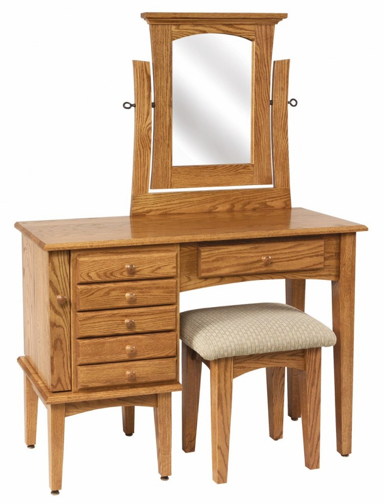 Shaker Jewelry Dressing Table