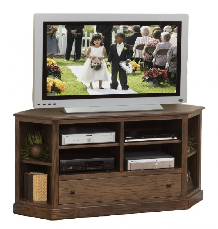 Universal Media Center Corner Plasma TV Stand