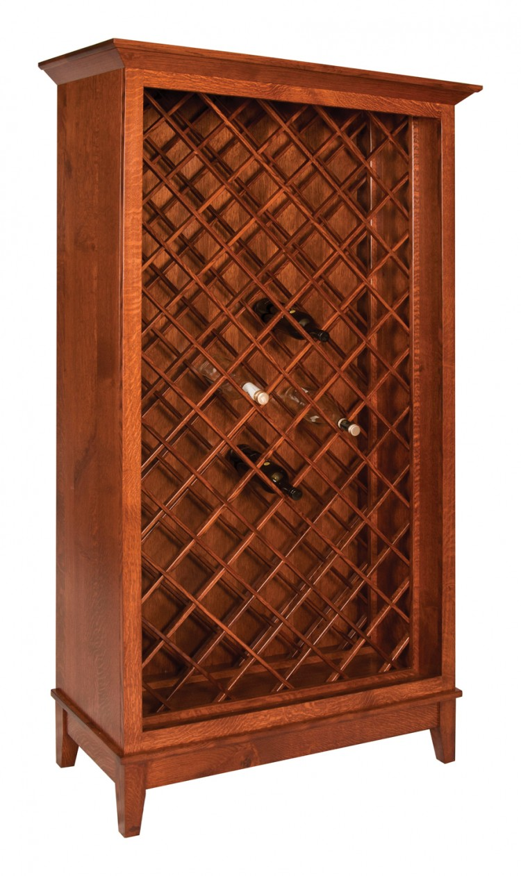 Canterbury Wine Bottle Cabinet