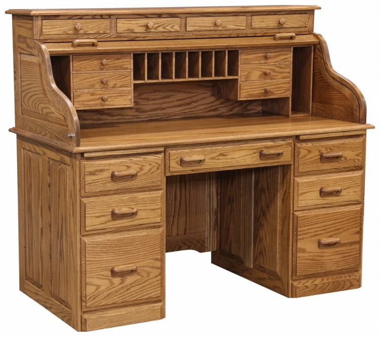 Traditional Deluxe Rolltop Desk