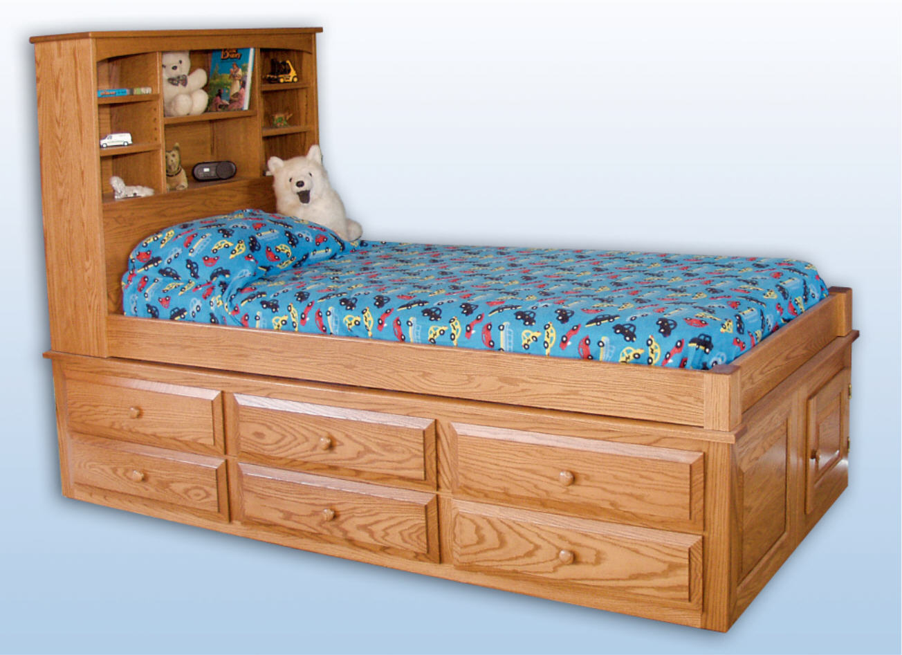 Kids Captain's Bed