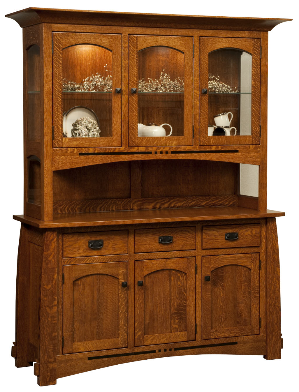 Colebrook hutch 403 coleh2d 125 dining furniture for Stone barn furnishings