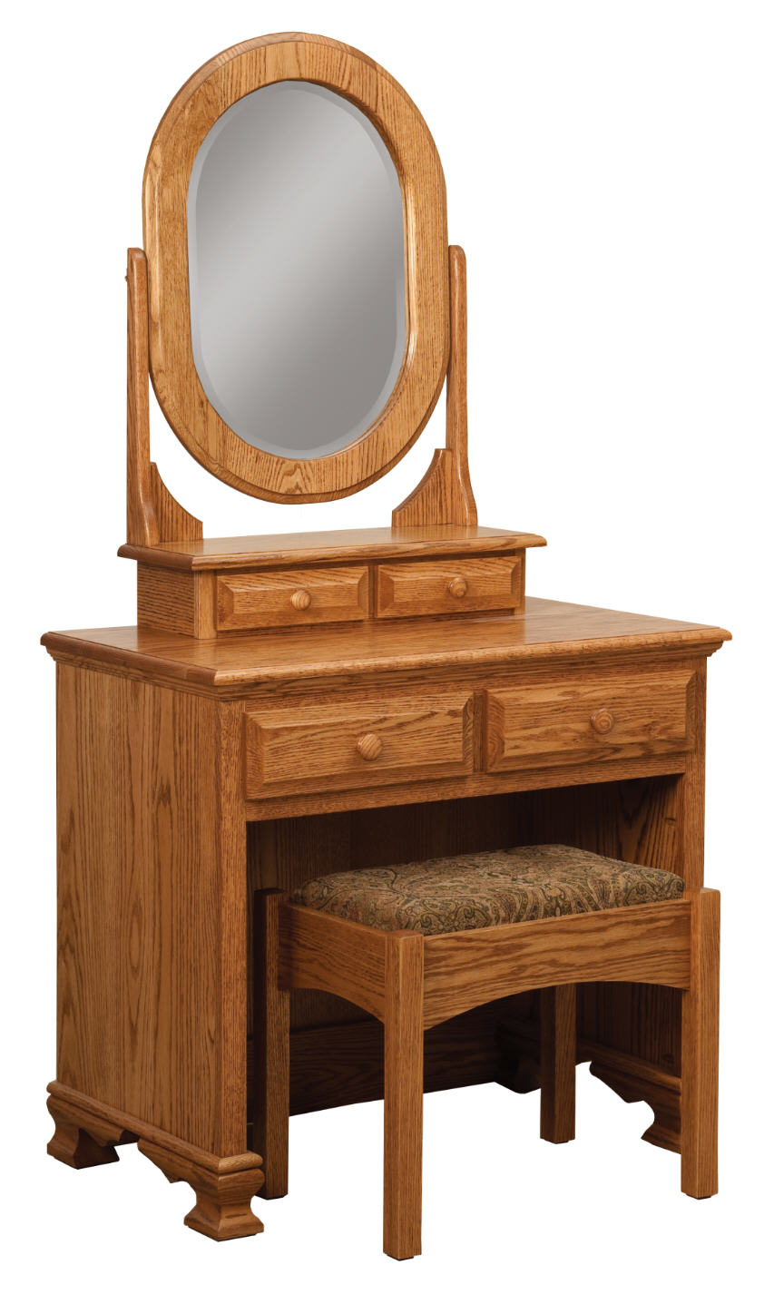 Heritage Dressing Table w/Bench