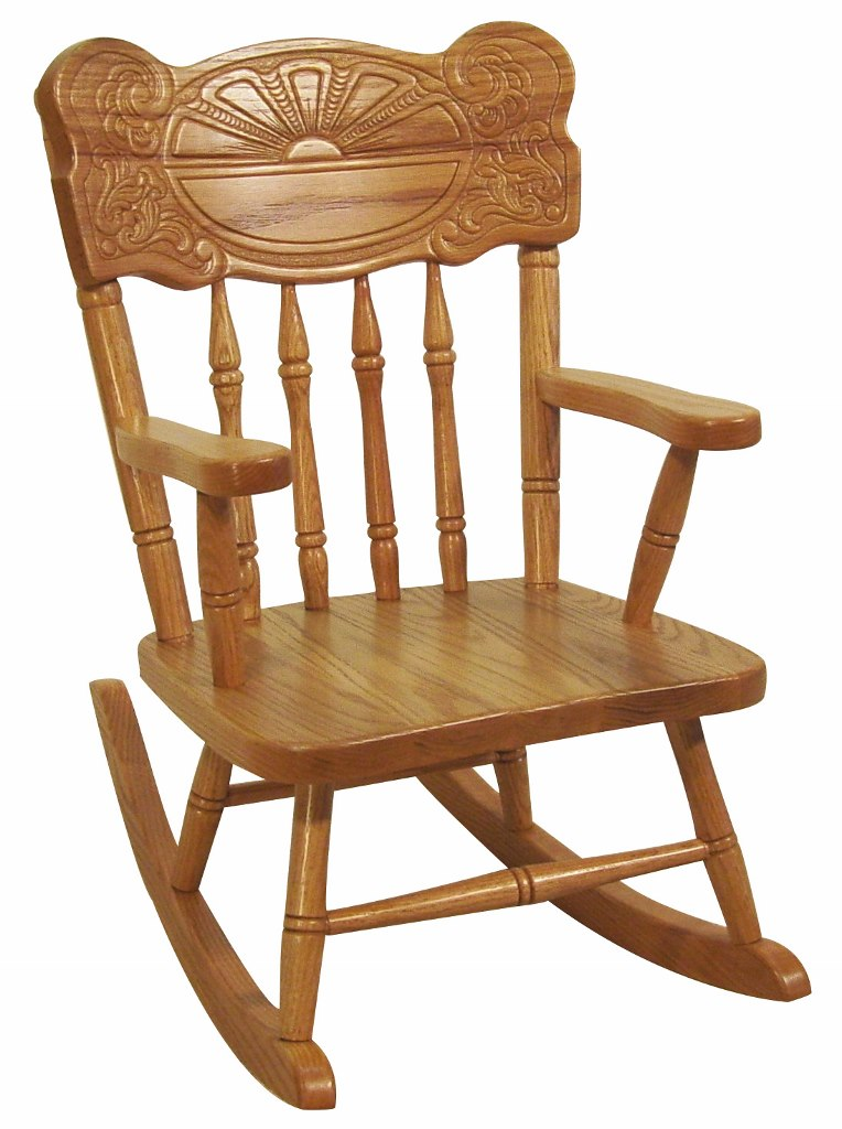 Sunburst Child's Rocker