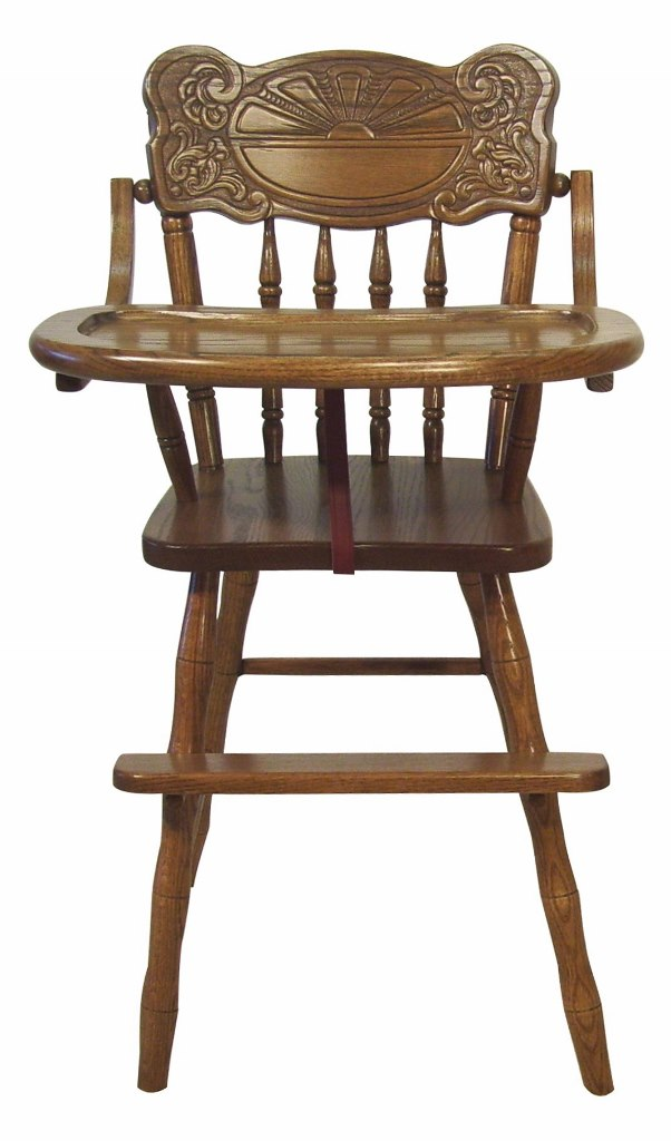 Sunburst High Chair