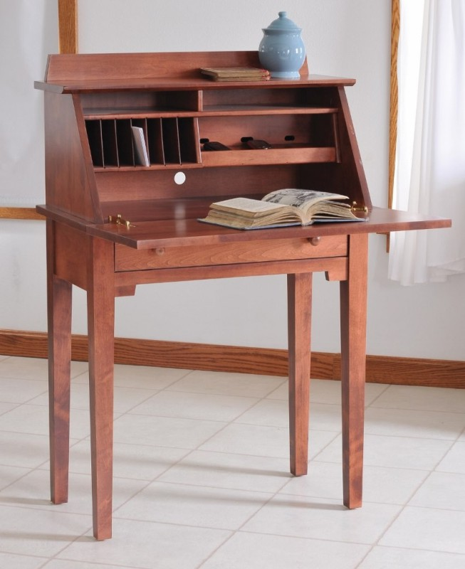 Shaker media writing desk 451 wd181 34 office for Stone barn furnishings