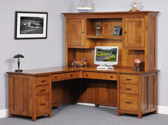 Coventry mission desk 452 950 923 41 office furniture for Stone barn furnishings