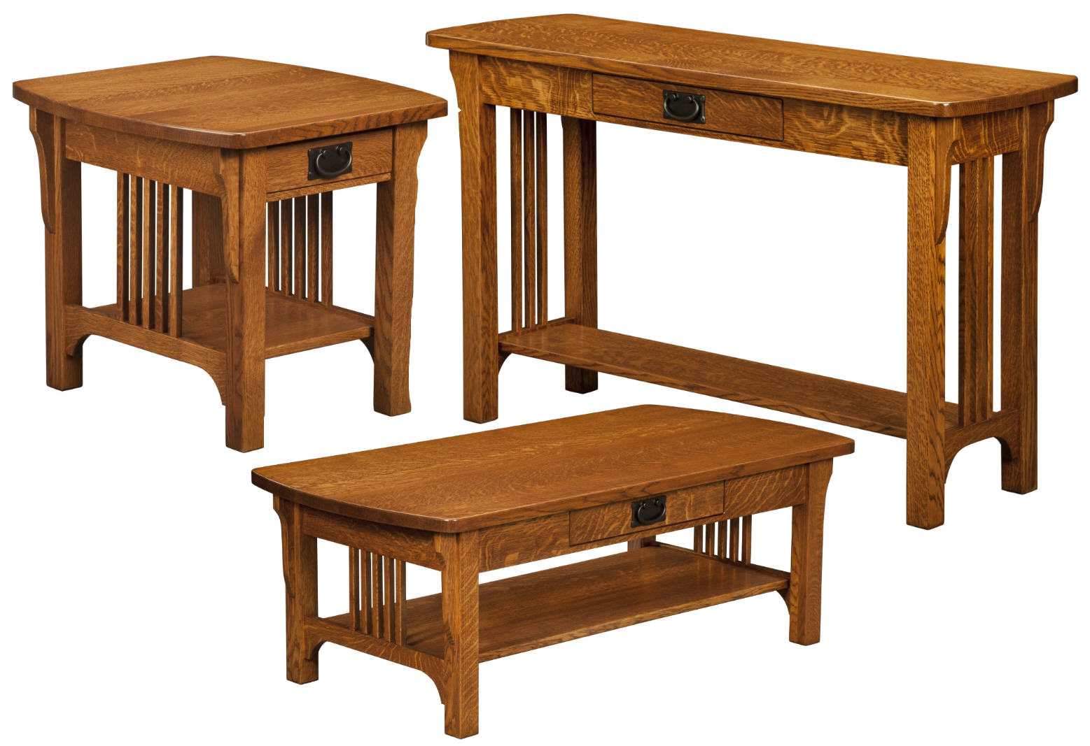 Craftsman Mission Open Occasional Tables 301 Craend 115 Occasionals Mission Stone Barn Furnishings Inc